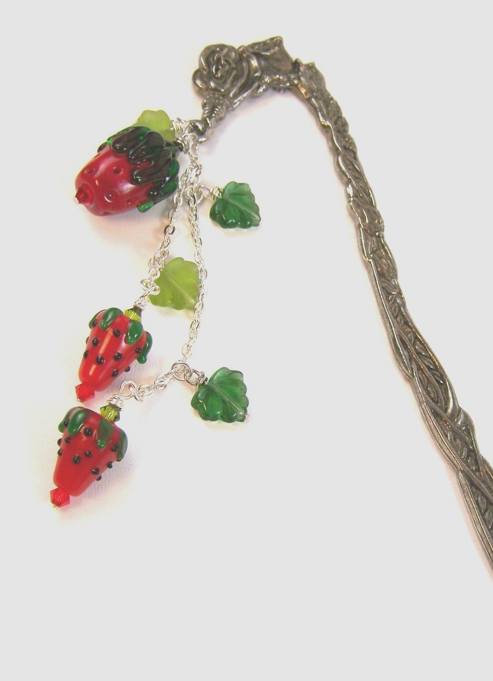 Strawberry Bookmark by Dammas
